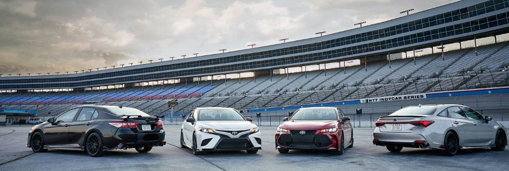 2020 Toyota Camry and 2020 Toyota Avalon TRD editions