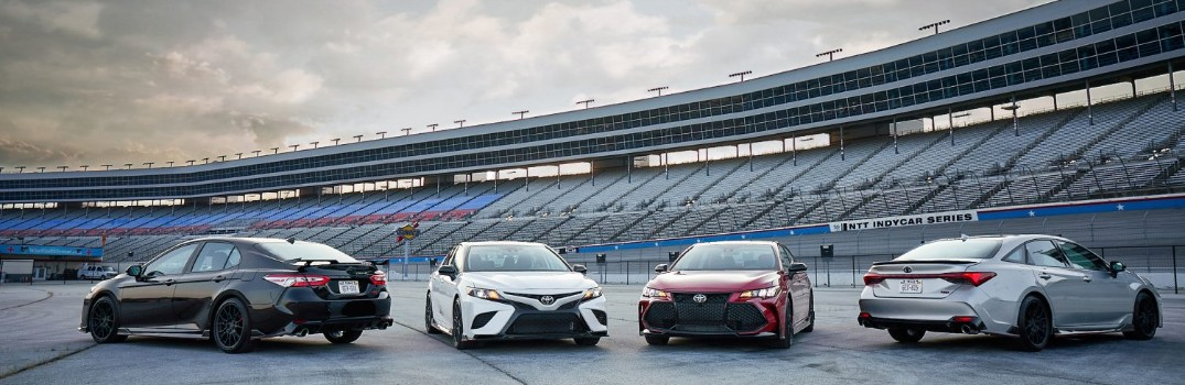 Toyota adds TRD editions to the Camry and Avalon