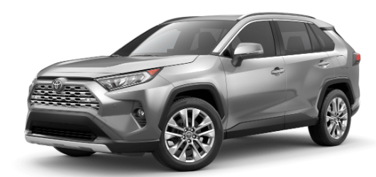 2020 Toyota RAV4 in Silver Sky Metallic