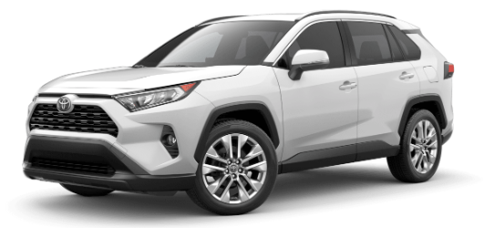 2020 Toyota RAV4 in Super White