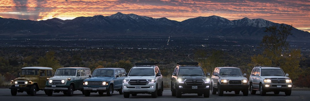 Take a look at the Toyota Land Cruiser history