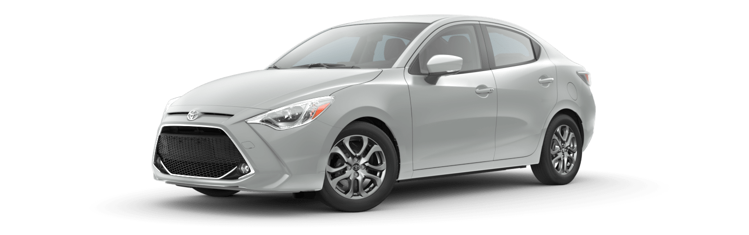 2020 Toyota Yaris in Icicle