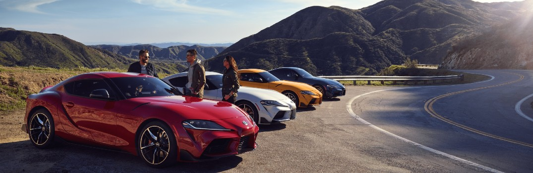Photo gallery: Exterior color options on the 2020 Toyota GR Supra