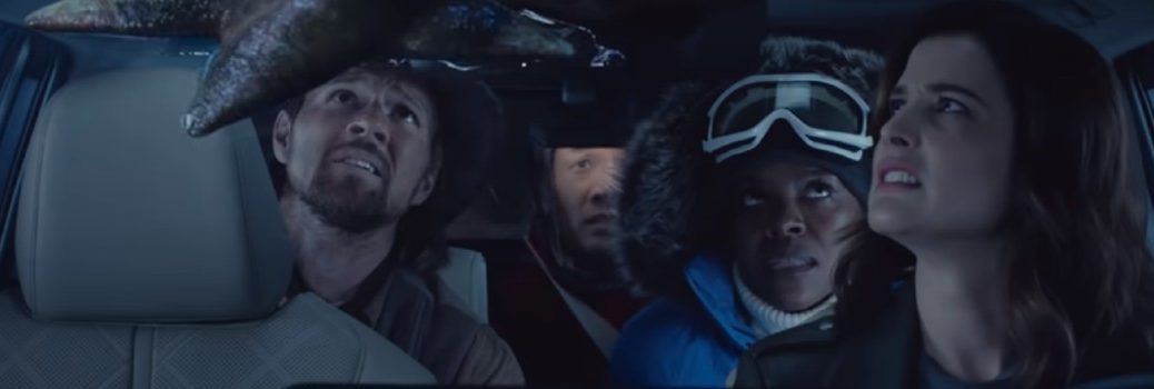 Toyota Highlander Super Bowl commercial shot
