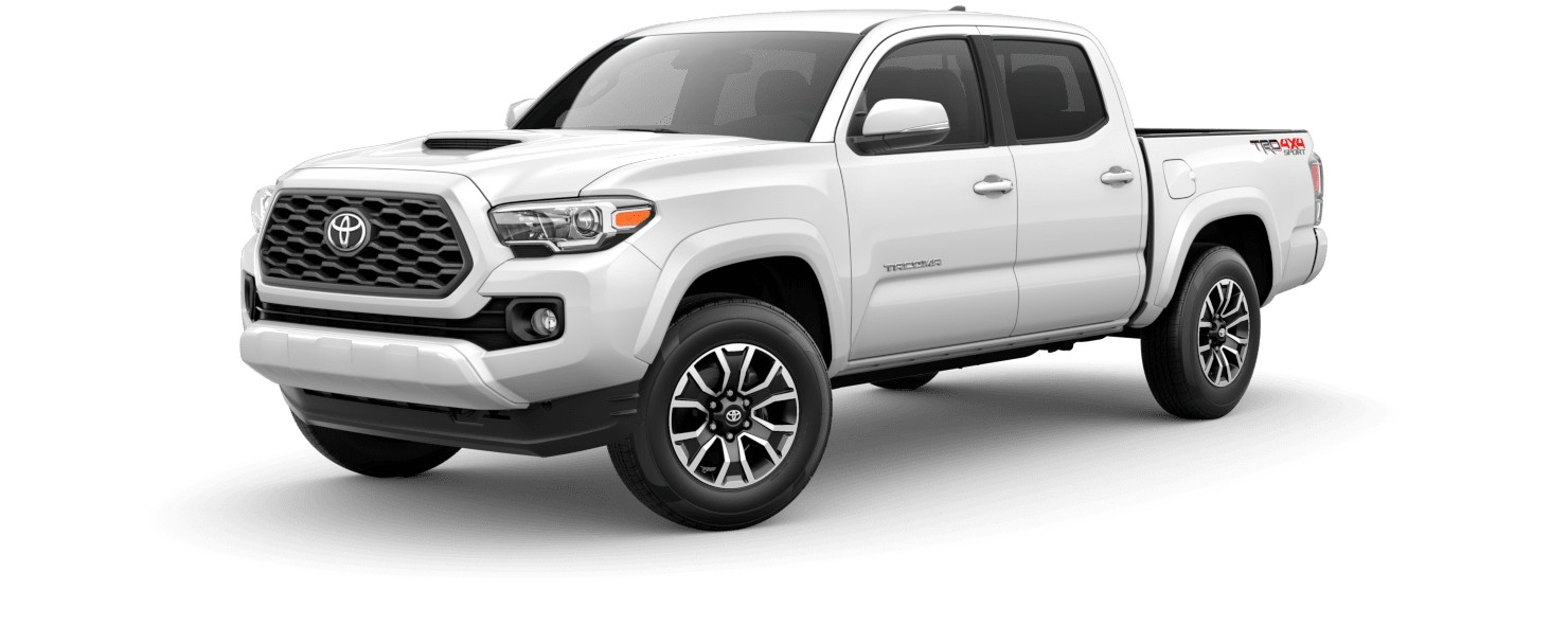 2020 Toyota Tacoma in Super White