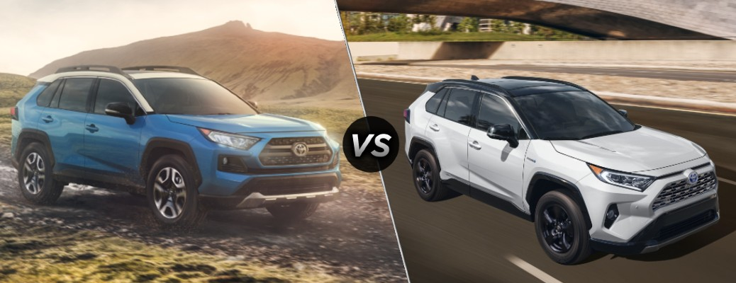 What's the Difference Between the 2020 Toyota RAV4 and Its Hybrid Model?