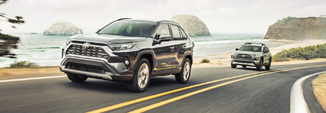 How much can I store inside the 2020 Toyota RAV4?