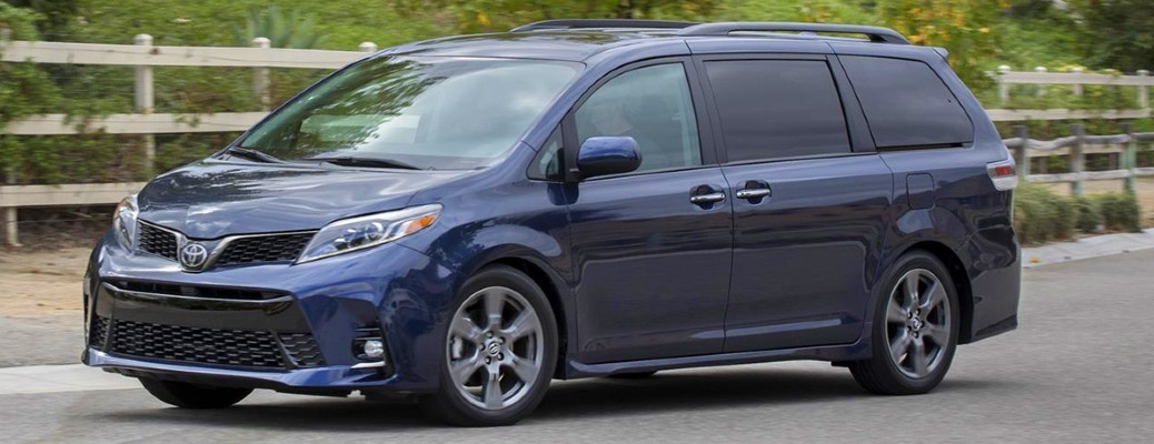 Get a first look at the 2021 Toyota Sienna