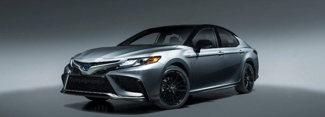 front view of 2021 Toyota Camry