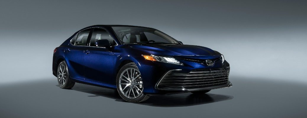 A photo of the 2021 Toyota Camry.