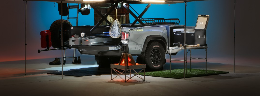 Toyota revolutionizes camping with the Tacoma for 2020 SEMA