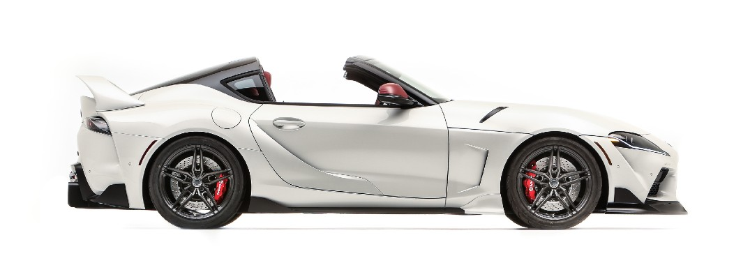 Is a convertible Supra model too much to hope for?
