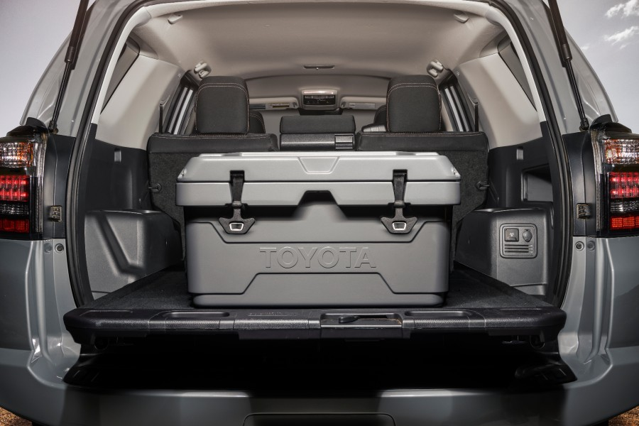 A photo of the custom cooler available with the 2021 Toyota 4Runner Trail.
