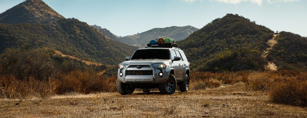 A photo of the 2021 Toyota 4Runner Trail.