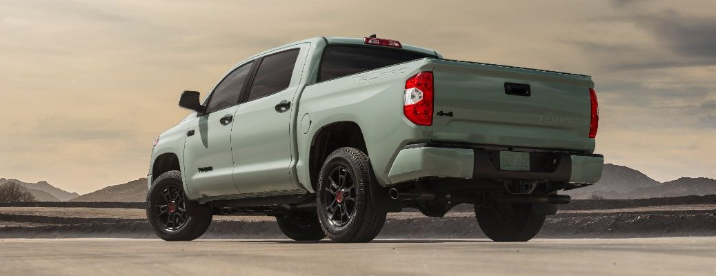 A photo of the 2021 Toyota Tundra.