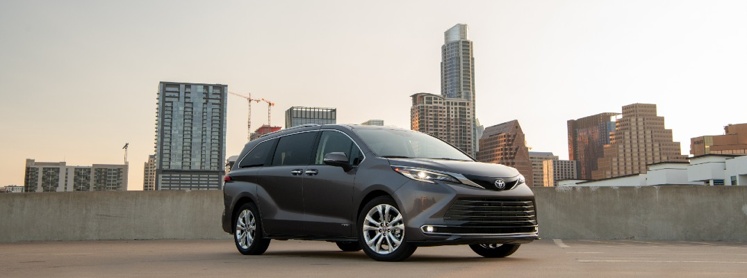 The 2021 Sienna might not be the only hybrid minivan, but it might be the best