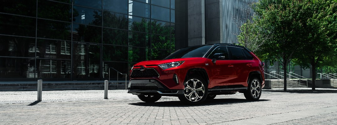 Join us in welcoming the 2021 Toyota RAV4 Prime to Lexington!