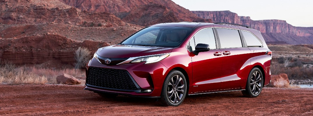 Compare the 2021 Sienna to the 2020 model before you visit Lexington Toyota