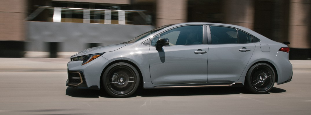 The 2021 Corolla is more than ready for whatever the competition throws at it