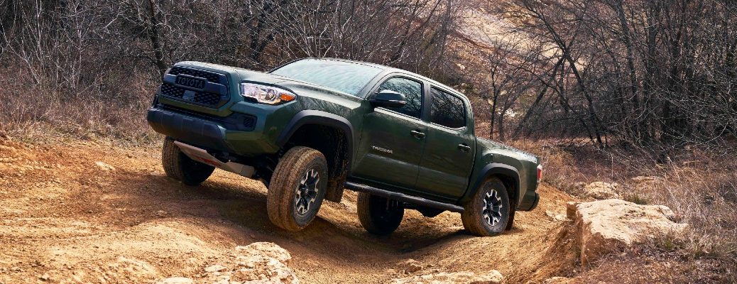 The 2021 Toyota Tacoma is ready to handle just about anything. Learn more here.