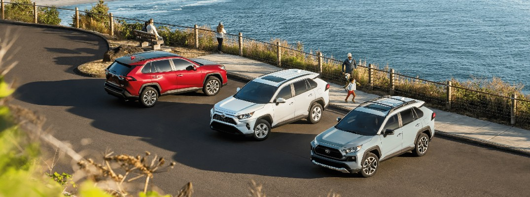Take a look at how the 2021 RAV4 stands up to the competition