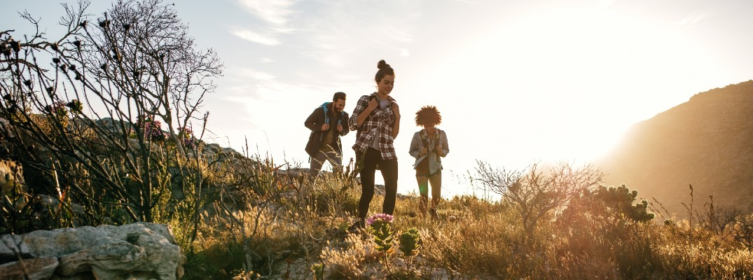 Take the family for a hike after celebrating Mother's Day