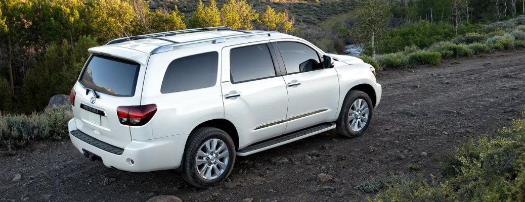 Gallery of Exterior Paint Options of the 2021 Toyota Sequoia