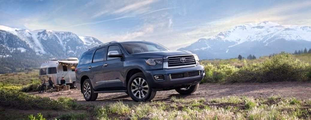 List of Technology Features in the 2021 Toyota Sequoia