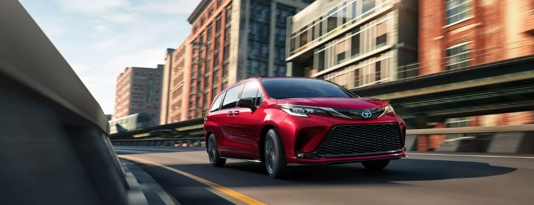 List of Technology Features in the 2022 Toyota Sienna