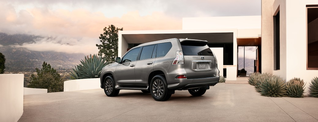 2021 Lexus GX parked outside of home