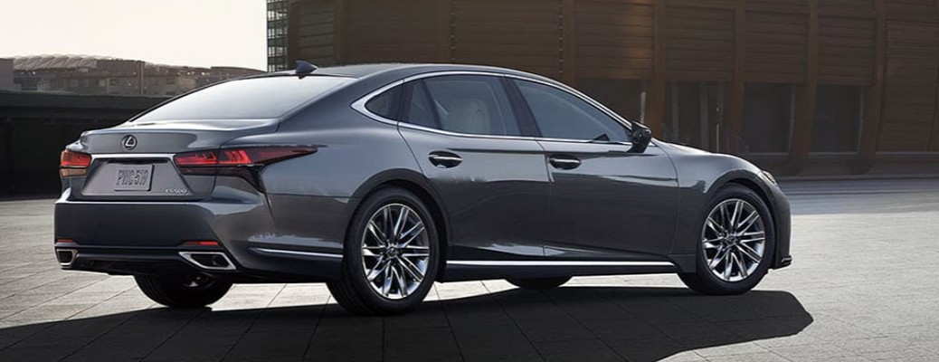 Side view of the 2021 Lexus LS