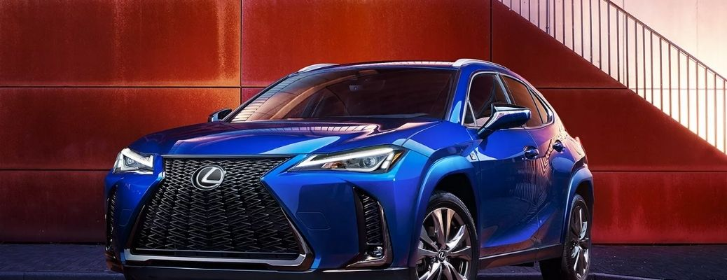 Front view of the 2021 Lexus UX