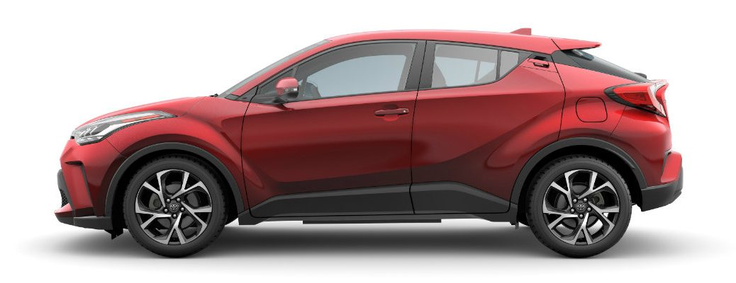 Side view of the 2020 Toyota C-HR
