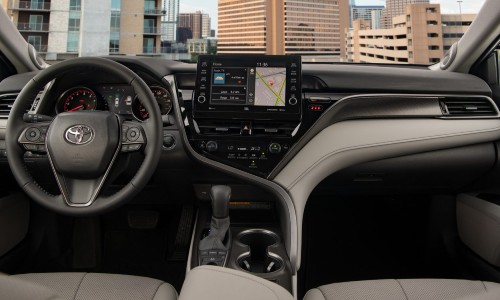 2021 Toyota Camry interior view front cabin