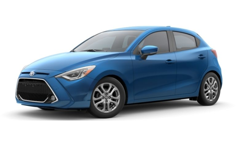 2018 Toyota Yaris iA in abyss color