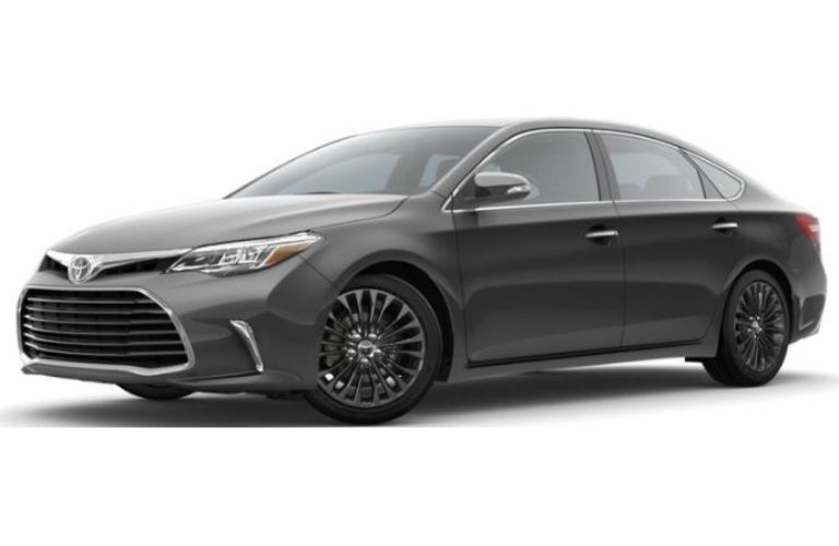 2016 Toyota Avalon XLE in magnetic gray metallic color