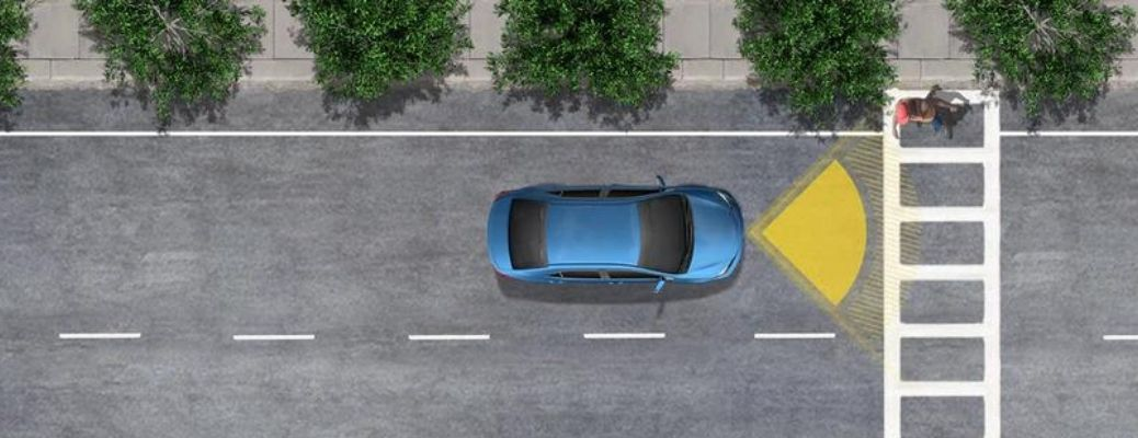 Pre-Collision System with Pedestrian Detection (PCS w/PD) - One of the 2021 Toyota Venza Safety Features