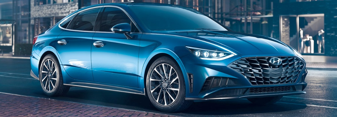 Take a look at the newly designed 2020 Hyundai Sonata!