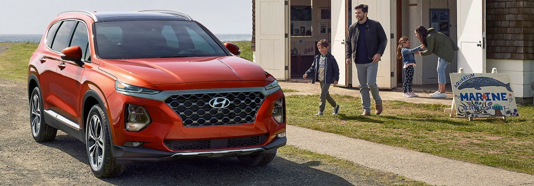 Check out the safety features on the 2020 Hyundai Santa Fe!