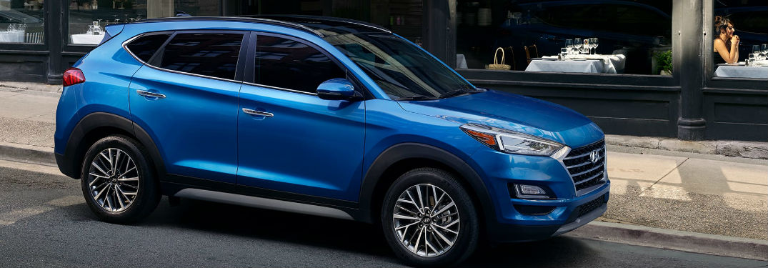 Many amazing exterior color options to choose from when buying a new 2020 Hyundai Tucson