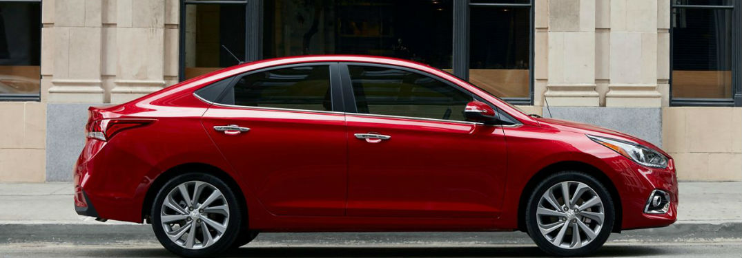2020 Hyundai Accent offers seven distinct and vibrant color options to choose from