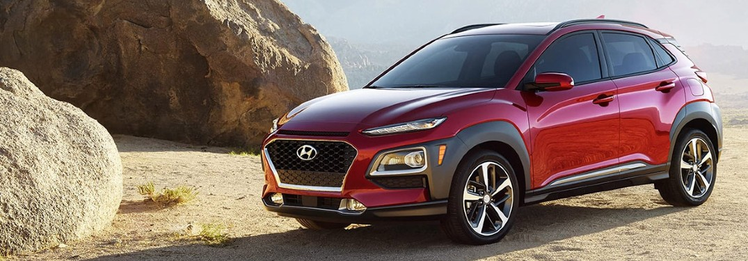 2020 Hyundai Kona is available in 8 different exterior paint color options