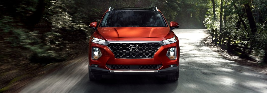 What are the Powertrain Options for the 2020 Hyundai Santa Fe?