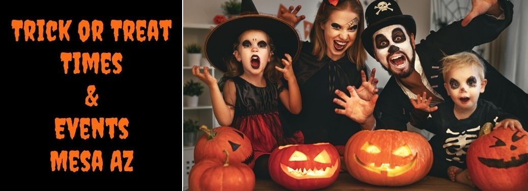 2019 Halloween Activities And Trick Or Treat Times Mesa Az