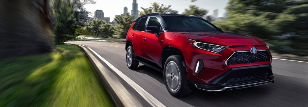 How Fast is the 2021 Toyota RAV4 Prime Plug-In Hybrid?