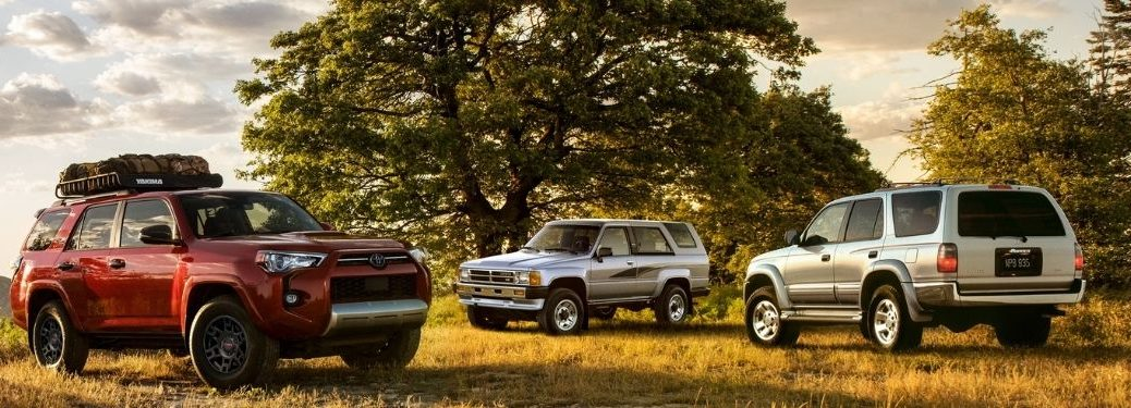 old and new 4runner models