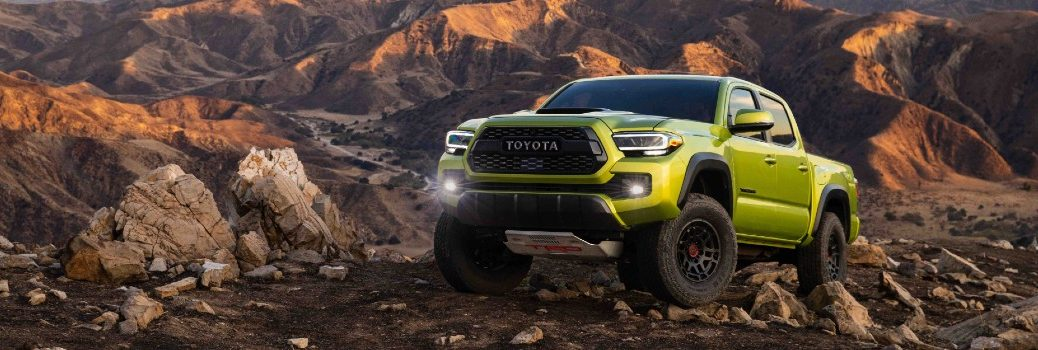2022 Toyota Tacoma TRD Pro Exterior Driver Side Front Angle