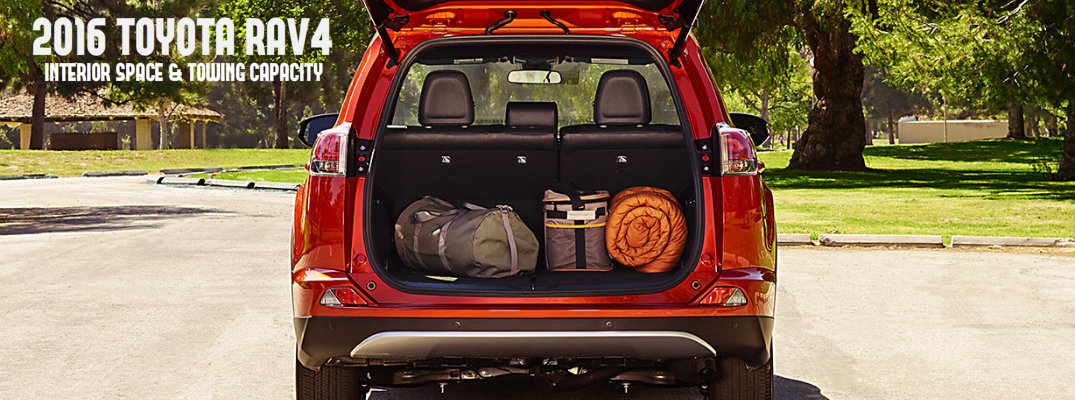 Rav4 Towing Capacity >> 2016 Toyota Rav4 Interior Space And Towing Capacity