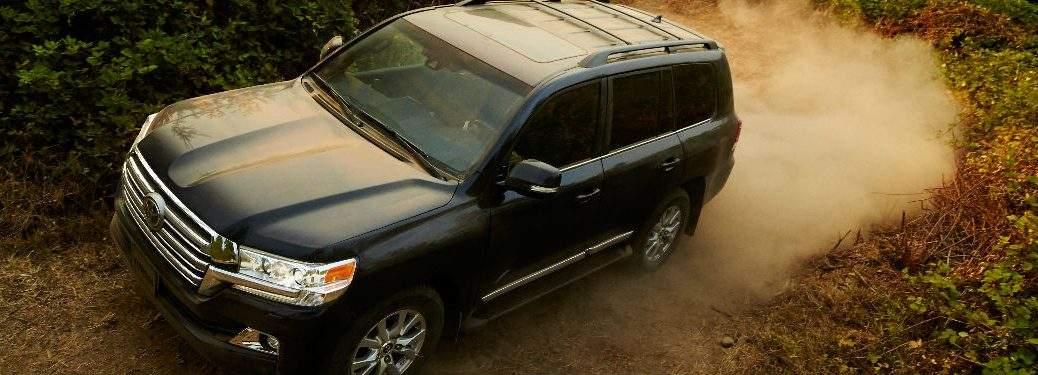 2016 Toyota Land Cruiser maximum cargo capacity