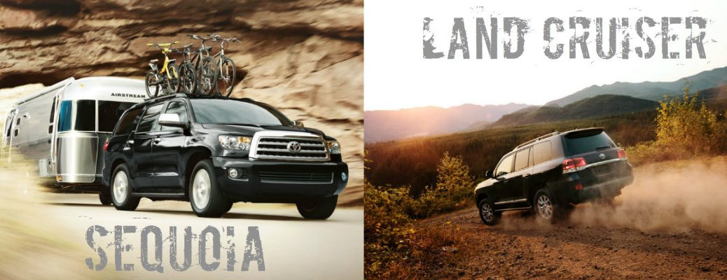 2016 Toyota Sequoia vs 2016 Toyota Land Cruiser